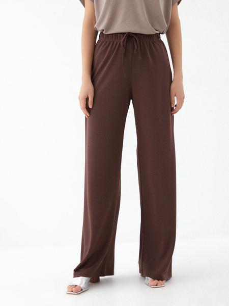 Прямые брюки со шнурком - фото 1