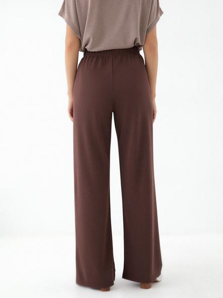 Прямые брюки со шнурком - фото 3