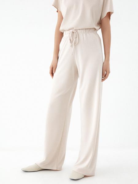 Прямые брюки со шнурком - фото 2