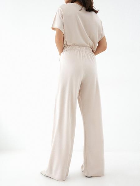 Прямые брюки со шнурком - фото 4