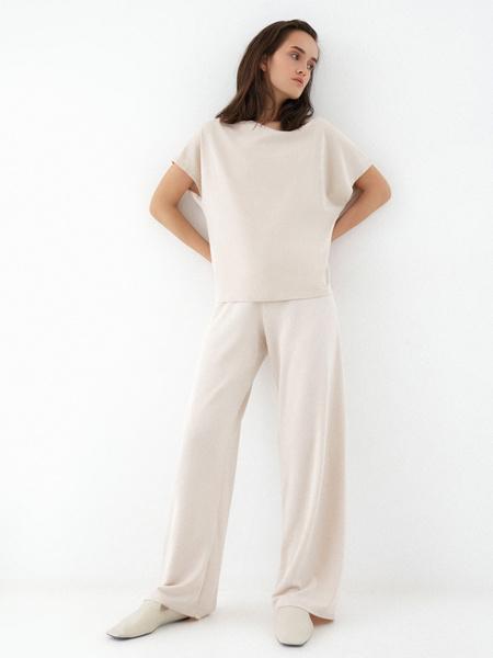 Прямые брюки со шнурком - фото 5