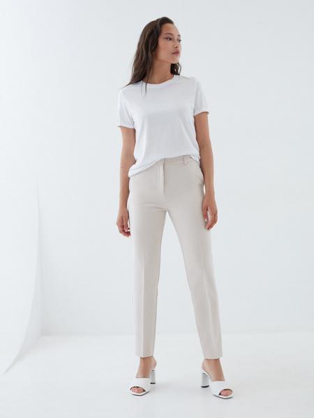 Зауженные брюки с карманами - фото 1