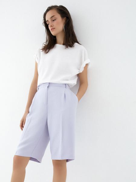 Широкие шорты с карманами - фото 5