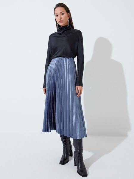 Плиссированная юбка - фото 1