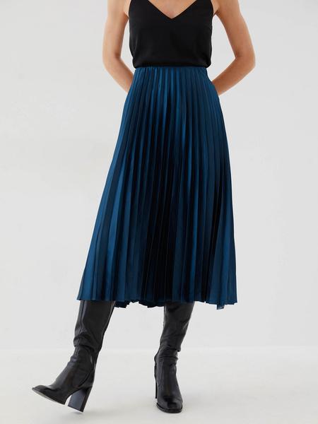 Плиссированная юбка - фото 3