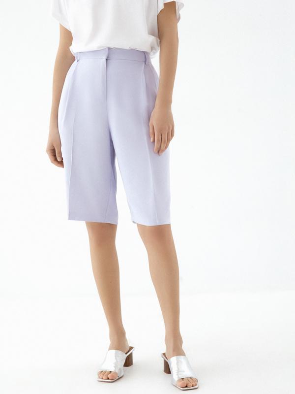 Широкие шорты с карманами - фото 2