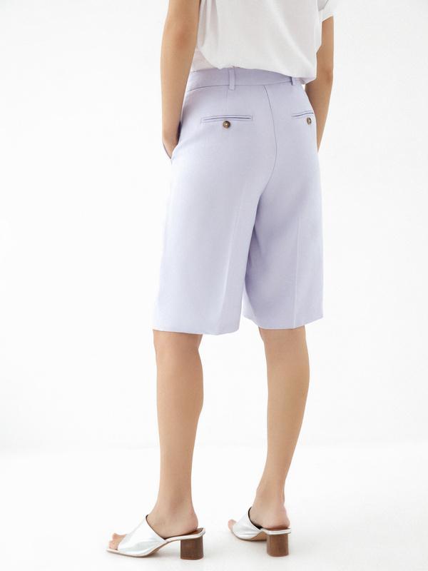 Широкие шорты с карманами - фото 4