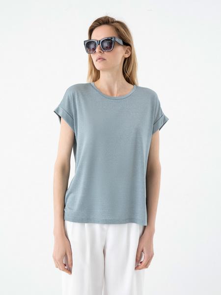 Блузка с люрексом - фото 5