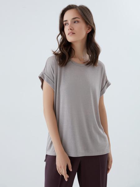 Блузка с люрексом - фото 1