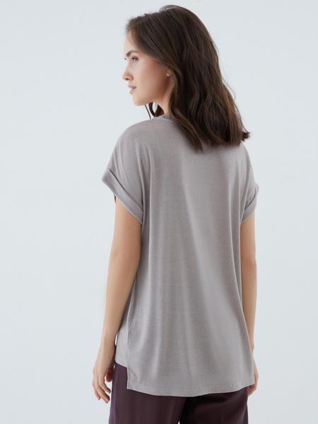 Блузка с люрексом - фото 3