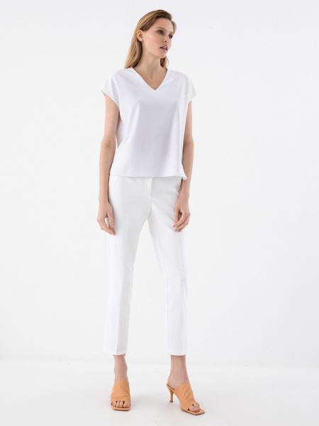 Блузка с бусинами - фото 6