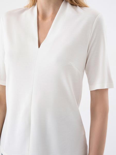 Блузка с V-образным вырезом - фото 2