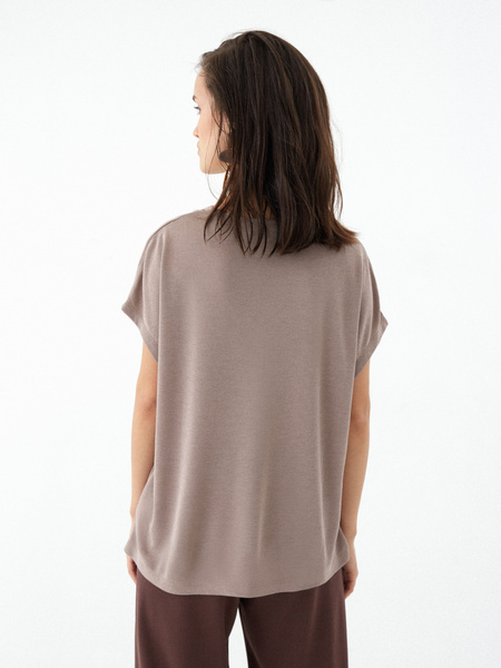 Блузка с люрексом - фото 4