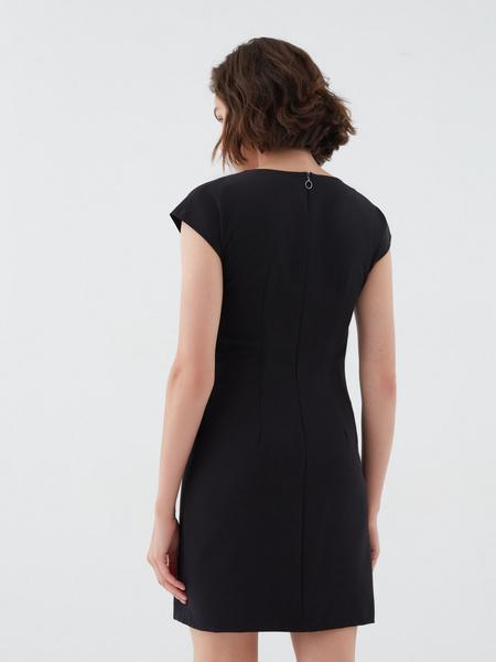 Платье с коротким рукавом - фото 5