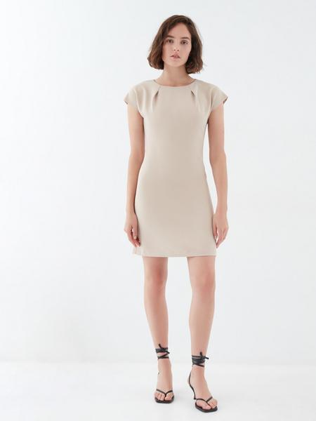Платье с коротким рукавом - фото 6