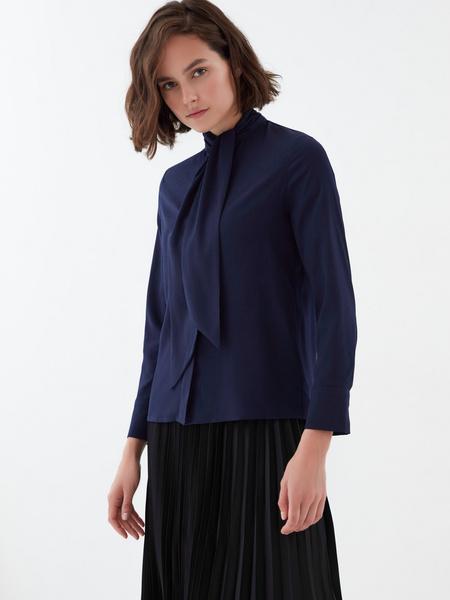 Блузка с завязками - фото 4