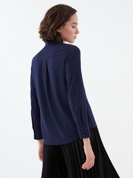Блузка с завязками - фото 5