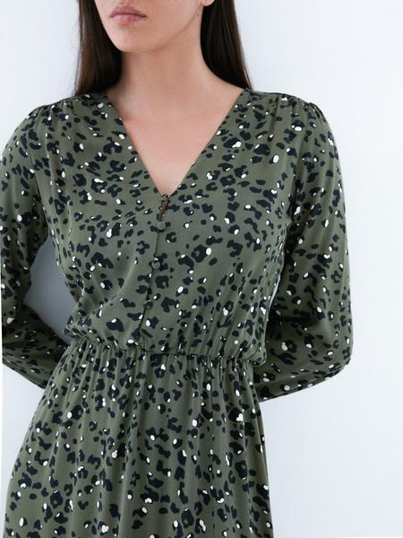 Платье с разрезом - фото 3