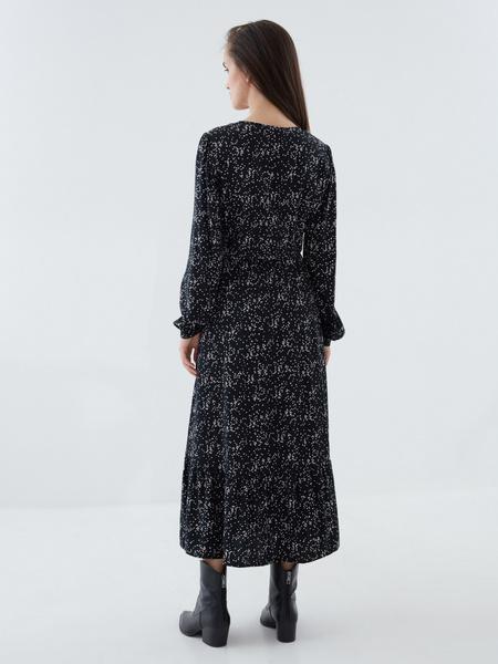 Платье с разрезом - фото 7