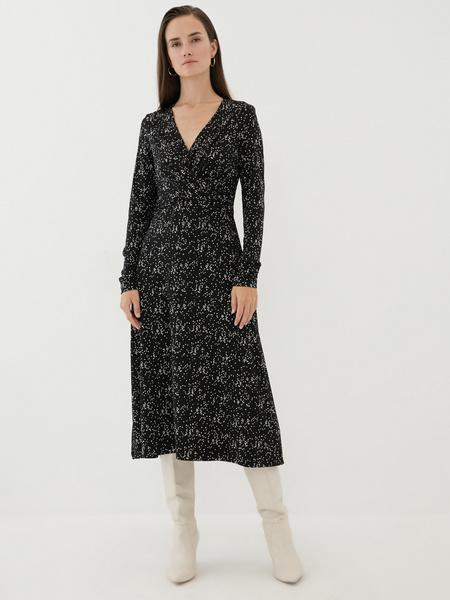 Платье с перекрученным лифом - фото 2