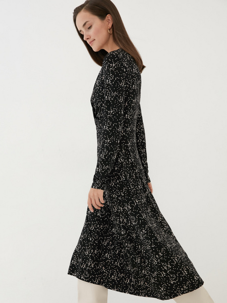 Платье с перекрученным лифом - фото 4