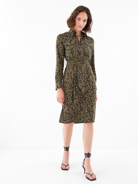 Платье с карманами по груди - фото 4