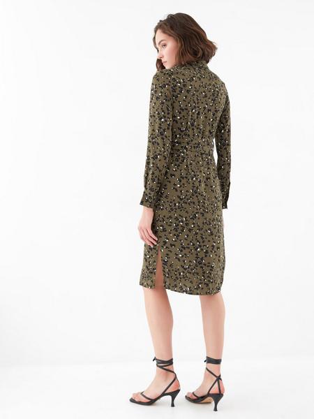 Платье с карманами по груди - фото 5