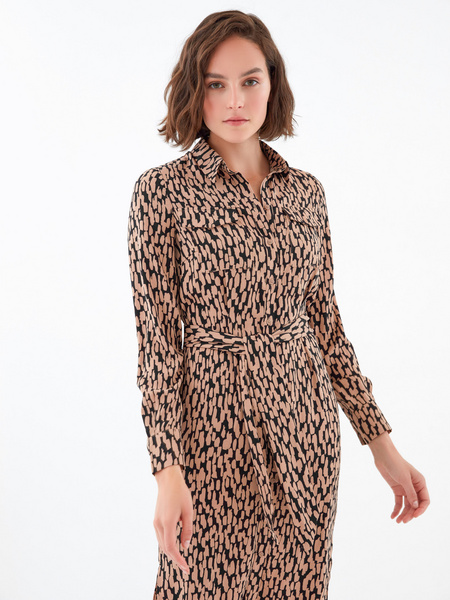 Платье с карманами по груди - фото 2