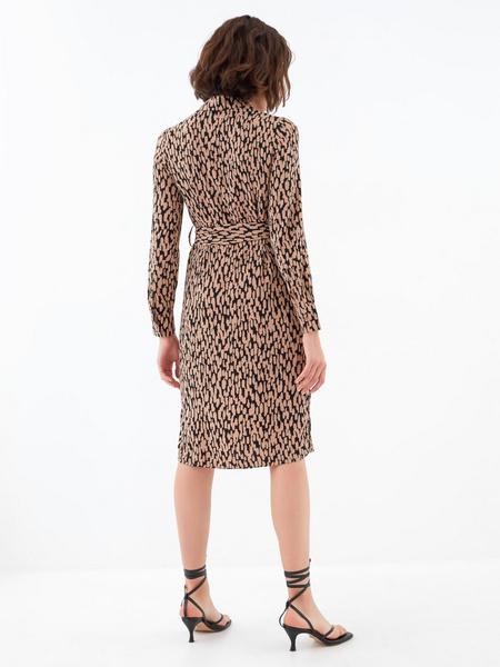 Платье с карманами по груди - фото 6