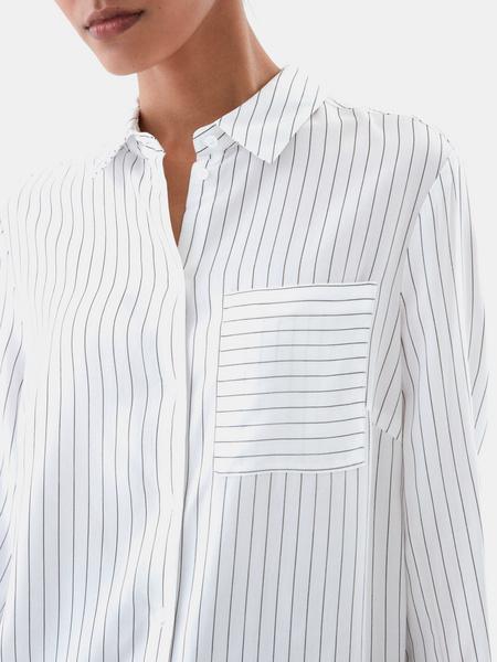 Блузка с удлиненной спинкой - фото 2