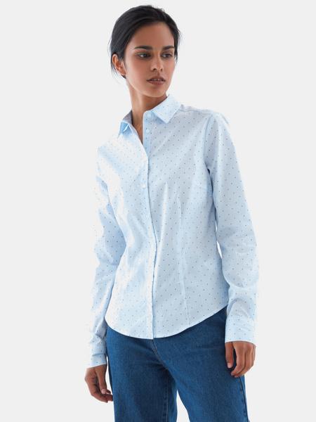 Рубашка из хлопка - фото 3