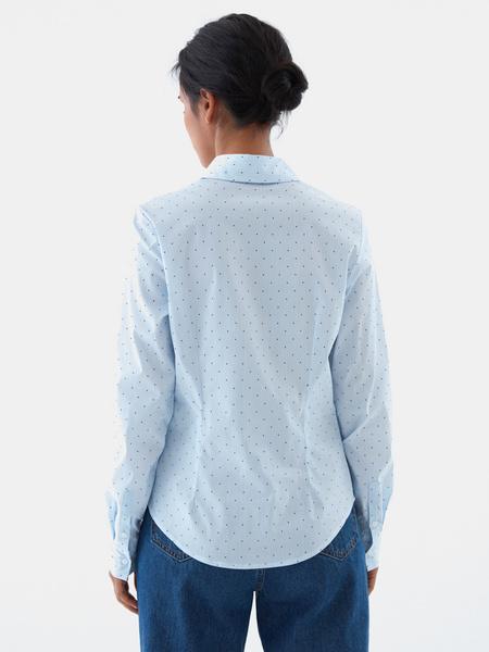 Рубашка из хлопка - фото 4