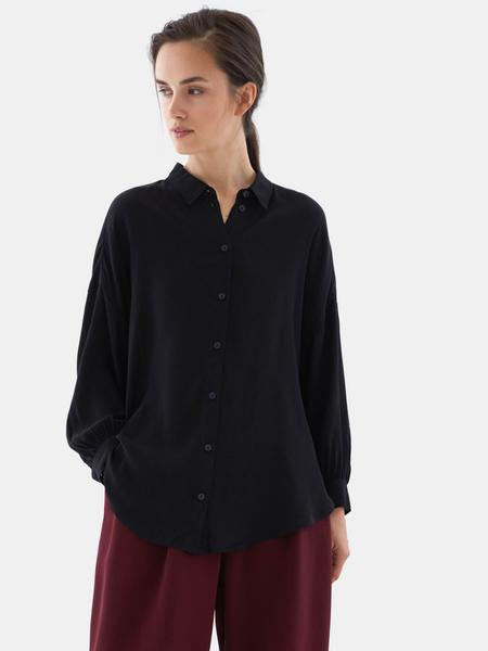 Блузка с рукавами-фонариками - фото 4