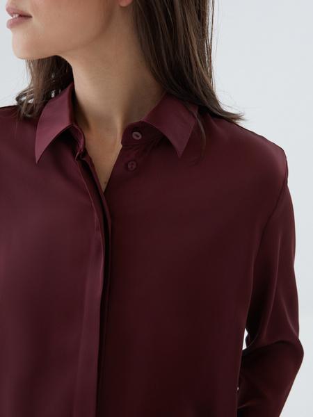 Блузка с широкой манжетой - фото 2