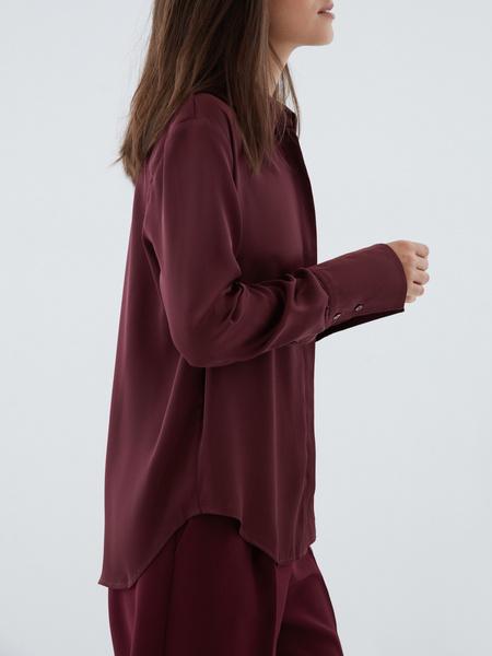 Блузка с широкой манжетой - фото 3
