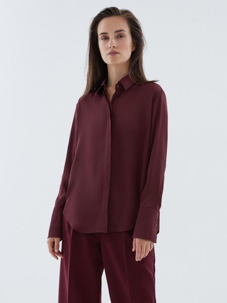 Атласная блузка - фото 4