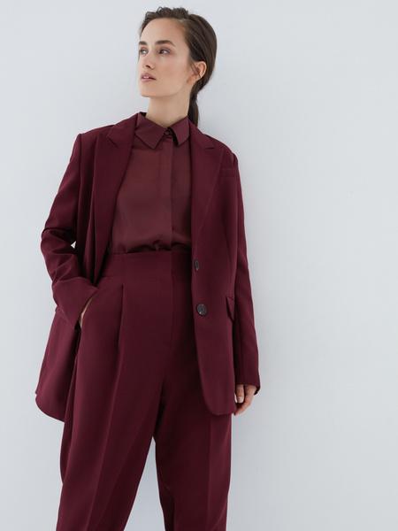 Блузка с широкой манжетой - фото 6