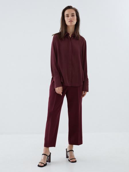 Блузка с широкой манжетой - фото 7