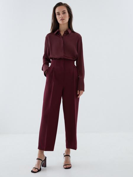 Блузка с широкой манжетой - фото 8