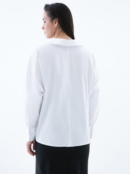 Блузка с перекрученным низом - фото 5