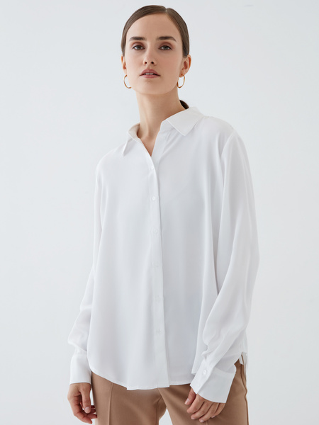 Блузка с длинным рукавом - фото 1