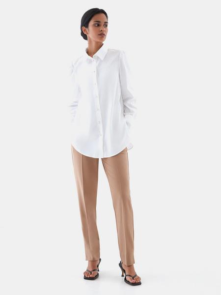 Блузка с пуговицами-бусинами - фото 7