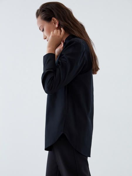 Блузка с пуговицами-бусинами - фото 4