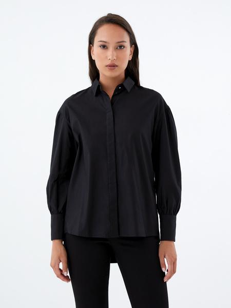 Блузка с удлиненной спинкой