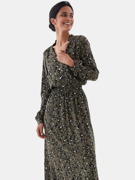 Платье с жемчужными пуговицами - фото 1