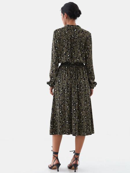 Платье с жемчужными пуговицами - фото 7