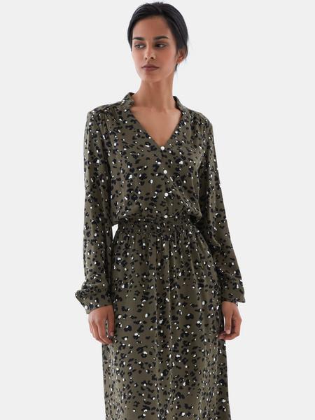Платье с жемчужными пуговицами - фото 8