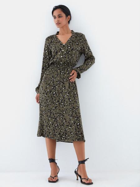 Платье с жемчужными пуговицами - фото 9