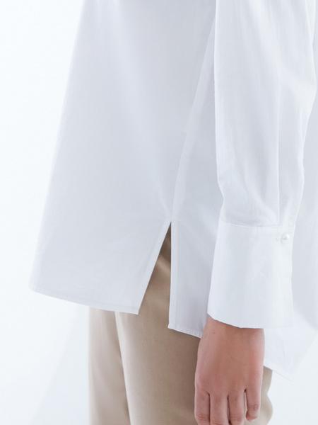 Блузка из 100% хлопка с разрезами - фото 2