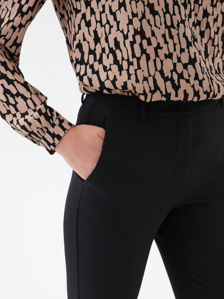 Зауженные брюки - фото 3